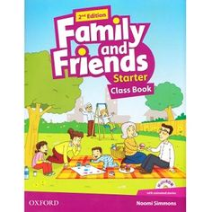 Family and Friends Starter Class Book Edition ebook pdf class audio cd English Books For Kids, English Speaking Book, English Books Pdf, Learn English, English Class, English Starters, Shopkin Coloring Pages, Ingles Kids, Toddler Yoga