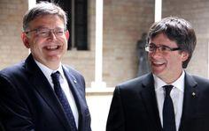 Puigdemont diu que el nou govern espanyol tindràlalè de valencians i catalans al clatell