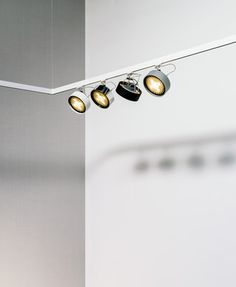 Wall Mounted Track Lighting Glamorous Track Lighting  Suspended Lights  Spot  Buschfeld Designcheck Inspiration Design