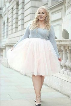 Just sweet, sweet perfection!!  The Loey Lane Tutu in Blush, The Loey Lane Collection for Society+ (sizes 1x-6x)