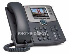 CISCO CIS-SPA525G2 5-Line IP Phone w/Color Display, PC Port, WiFi, & Bluetooth #CISCO