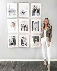 Fascinating Wall Gallery Ideas You Can Steal - A gallery wall can instantly elevate the style of any space in any room in your home. Gallery walls vary greatly, depending on the décor and taste of . Interior Design Living Room Warm, Living Room Designs, Interior Colors, Interior Livingroom, Kitchen Interior, Gallery Wall Frames, Frames On Wall, Living Room Gallery Wall, Photo Gallery Walls
