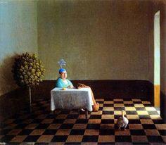 Painting by German Artist Michael Sowa Michael Sowa, Henri Matisse, Vladimir Volegov, Claudia Tremblay, Claudio Bravo, The Beautiful South, Surrealism Painting, Art Database, Surreal Art