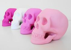 Candle Holder Skulls