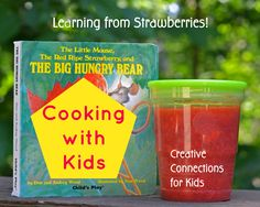 A pinterest board with ideas and recipe for cooking with your kids ~ Creative Connections for Kids