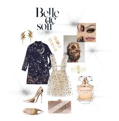 """""""Star Light Star Bright"""" by chantel-fernandez on Polyvore featuring Lauren Conrad, Valentino, Accessorize, Jimmy Choo, Edie Parker, Ludevine, Forever 21 and Elie Saab"""