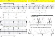 Des fractions aux nombres décimaux : découverte CM1   MA MAITRESSE DE CM1-CM2