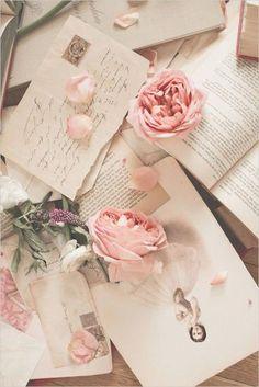 Imagem de rose, pink, and vintage #style #life