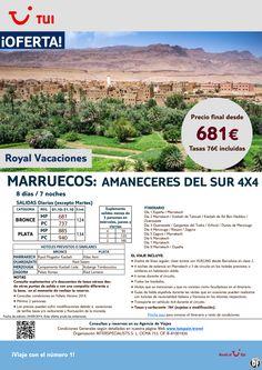 Oferta Marruecos: Amaneceres del Sur en 4x4. 7 noches. Octubre. Precio final desde 681€ ultimo minuto - http://zocotours.com/oferta-marruecos-amaneceres-del-sur-en-4x4-7-noches-octubre-precio-final-desde-681e-ultimo-minuto/
