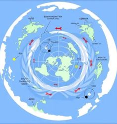 United Nations symbol has always had the flat earth truth in the details.