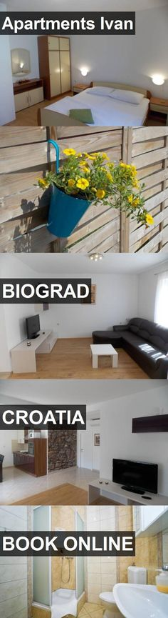 Apartments Ivan in Biograd, Croatia. For more information, photos, reviews and best prices please follow the link. #Croatia #Biograd #travel #vacation #apartment