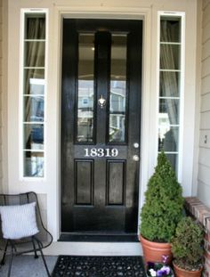 Front Door and Curb Appeal Decor | Front doors, Doors and Curb appeal
