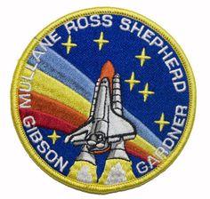 STS-27 Space Shuttle Atlantis Mission Patch