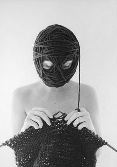 Don't just knit....BE the yarn!