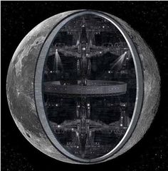 Is The Moon An Artificial Alien Base?
