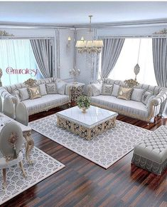 The Simple Romantic Living Room Trap 138 Living Room Sofa Design, Living Room Decor Cozy, Home Living Room, Interior Design Living Room, Living Room Designs, Luxury Sofa, Luxury Furniture, Furniture Design, Luxury Living