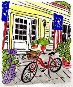 Bicycle at the Inn