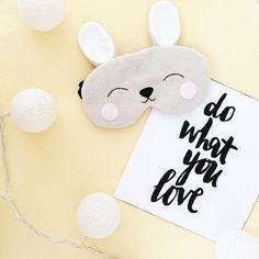 20,00 US$ Sleep mask rabbit Funny Cute Unicorn Etsy Маска для сна Masque de sommeil Schlafmaske Máscara para dormir