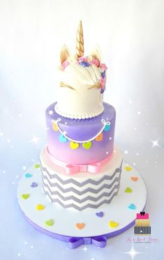 Unicorn Theme Cake by Mercedes