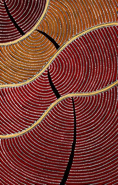 Aboriginal Artwork by Adam Reid. Sold through Coolabah Art on eBay. Cataogue ID 18003