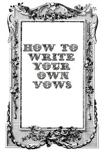 How to write your own wedding vows. Step by step instructions on how to make your vows flow perfectly! Pin now, read later!!