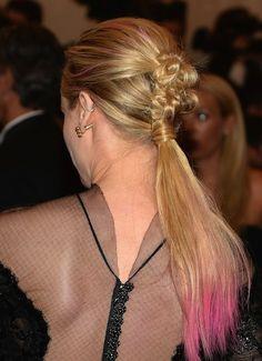 Diane Kruger at the Met Gala. Hair by Rebekah Forecast.
