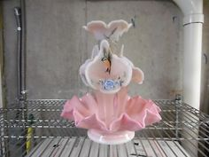 Fantastic-Fenton-Rosalene-Epergne-Birds-Holly-Linn-Bass-Pro-Shop-Artist