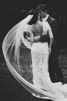Is this the most romantic wedding photo of It might be! Love this roundup of utterly romantic wedding photos in 2014 Wedding Veils, Wedding Poses, Wedding Couples, Wedding Dresses, Wedding Engagement, Engagement Photos, Wedding Ceremony, Bridesmaid Dresses, Perfect Wedding