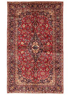 Tapis persans - Kashan  Dimensions:244x149cm