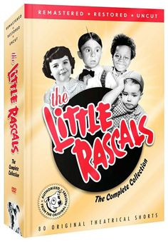 The hunt for those seemingly countless LITTLE RASCALS releases is over. For the first time ever, all 80 of Hal Roach's original 1929-1938 classic shorts featuring Buckwheat, Spanky, Alphalpha, and the