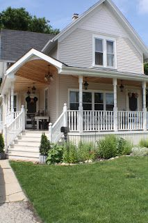 Inspiration: wrap-around front porch, especially the underside.