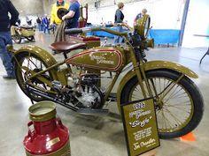 OldMotoDude: 1926 Harley-Davidson 21 C.I Single -- Best of Show...