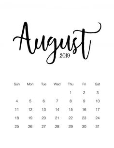 Cone on in and visit and pick up this Fabulous and Free Printable 2019 Minimalistic Calendar. this could be the Calendar that is perfect for you! August Calender, Kalender August, Baby Calendar, Calendar 2019 Printable, Make A Calendar, Free Calendar Template, Pregnancy Calendar, Cute Calendar, Calendar Pages