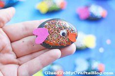 Pet Fish Rocks - Kid Craft
