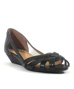 *SWAPPED** CHELSEA CREW Black Serina Sandal size 40 (US 9) Paid $42 for them, they're brand new, in the box still. My feet are too wide and too short for them, apparently.