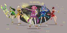 Star Guardians Riot by rebenke on DeviantArt