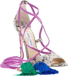 JIMMY CHOO LONDON   Dream Sandal - Lyst  dressmesweetiedarling