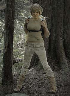 Female Luke Skywalker Dagobah Training Cosplay