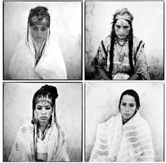 In 1960, photographer Marc Garanger served in the French army in the Algerian War. Garanger opposed the French occupation, but was ordered to take photos of the regional population for their ID's. This task included taking pictures of Algerian women without the cover of their veils, and many of the women had never removed their veils in front of a stranger before. There is much discussion about the looks on these women's faces. Although they were unable to refuse being photographed, their ex...