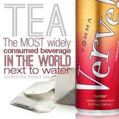 Verve ParTea RTD iced tea with 65 plant sourced minerals and 12 full spectrum vitamins