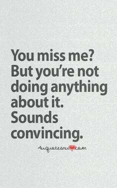 show you miss them