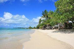 How to Experience the Real Samoa: Fale on Lano Beach, Savai'i. Photo by NeilsPhotography