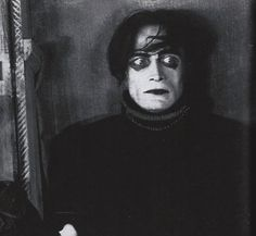 "Conrad Veidt in ""Das Cabinet des Dr. Caligari"", directed by Robert Wiene, 1920"