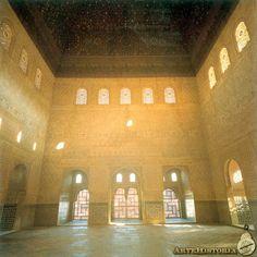 La Alhambra (Granada). Palacio de Comares. Salón de Comares - XIII-XIV