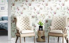 Amenajari tapet pentru living Mirtilla Cristiana Masi Accent Chairs, Flooring, Interior Design, Floral, Furniture, Home Decor, Christians, Upholstered Chairs, Nest Design