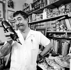 Sergio Aragonés Domenech (born 6 September 1937, Sant Mateu, Castellón, Spain) is a cartoonist and writer best known for his contributions to Mad Magazine and creator of the comic book Groo the Wanderer.