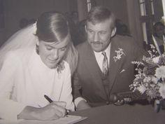 Onze trouwdag 29-9-1969.