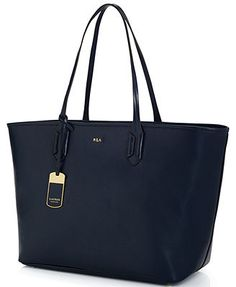 Lauren Ralph Lauren Tate Classic Tote comes in a turquoise color I like