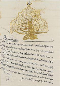 An ottoman firman bir osmanl ferman ottoman empire for Ferman motor car company