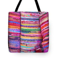 Greek Rugs Texture Tote Bag by Grigorios Moraitis